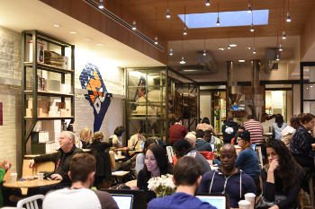 Compass Coffee opens in Washington DC with Eco-story LED Lighting